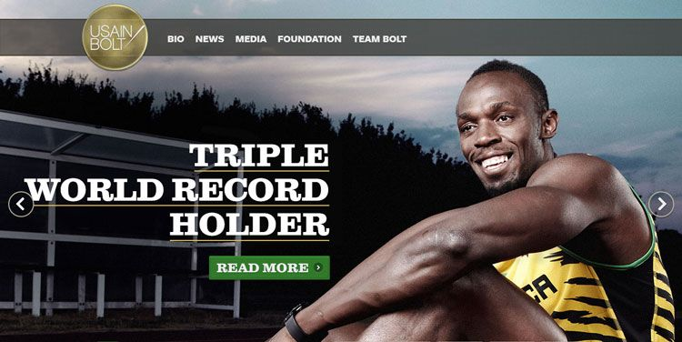 La importancia de wordpress en el marketing deportivo - Usain Bolt