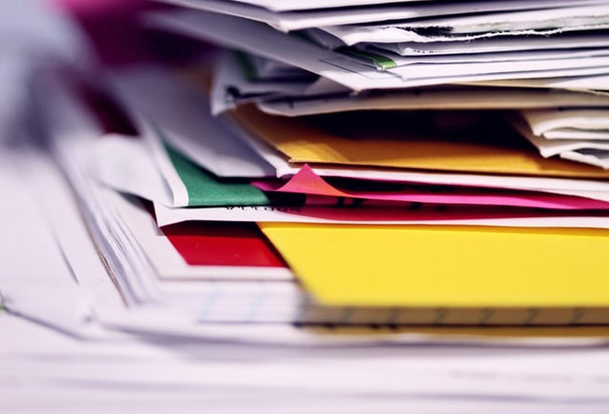 Reducir la cantidad de papel en el trabajo