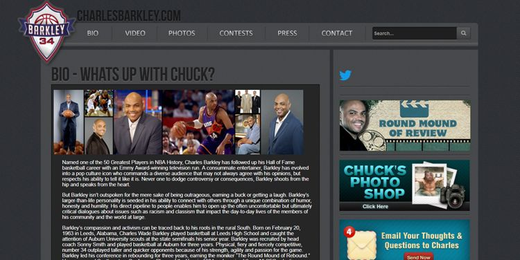 La importancia de wordpress en el marketing deportivo - Charles Barkley